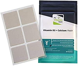 D3/Calcium Topical Patch by MVP (1-Month Supply)