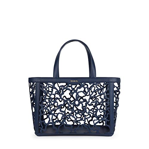 Tous Kaos Shock - Bolso de Mano para Mujer, Azul Marino, 32 x 25 x 15 cm