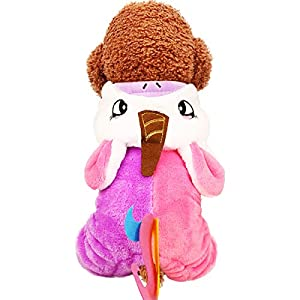 SymbolLife Costume d'animal Licorne Cosplay Unicorne Manteau de Costume de Chien Vêtements pour Animaux domestiques Manteau à Capuche pour Chiens et Chats Halloween et l'hiver