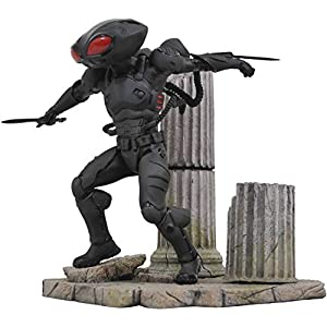 Diamond- Black Manta PVC Diorama Estatua 23 cm DC Comic Gallery Aquaman Movie, Color Figure (DIADC192502) 6