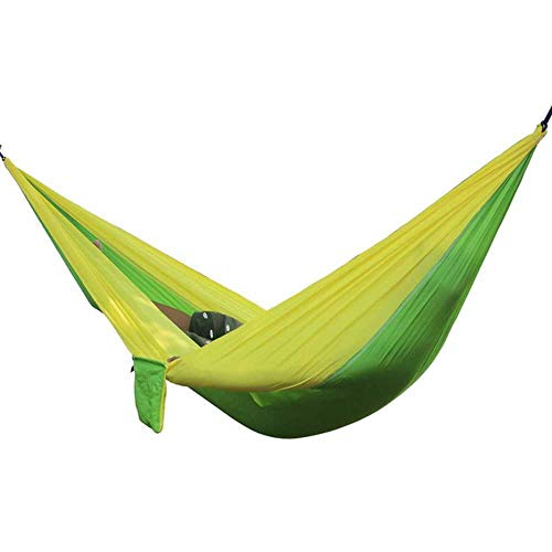 NOBRAND Hiking Camping Hanging Hammock Portable Garden Safety Swing Hanging Chair Sleeping Chair Outdoor Double Person Leisure Chair