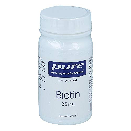 Pure Encapsulations Biotin 2,5 mg 60 Kapseln