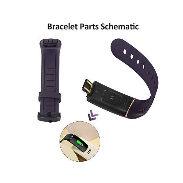 Byttron Fitness Tracker, Reloj Impermeable de Seguimiento de Actividad con Monitor de frecuencia cardíaca, Monitor de… 7