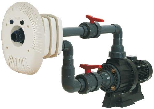 Steinbach Gegenstromanlagen Set Marlin, 230 V / 2,20 kW, 750 l/min. für Beton-/Folienbecken, inkl. Flanschsatz, Verrohrung und Einbausatz, 018201