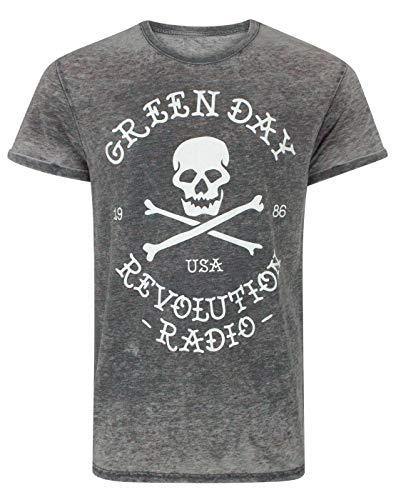 MERCH Code Boys Green Day Radio Tee 1012//_ t Mens Short-Sleeved T-Shirt Boys MC018
