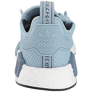 adidas Originals Women's NMD_r1 Running Shoe, ash Grey/ash Grey/raw Steel, 7 M US