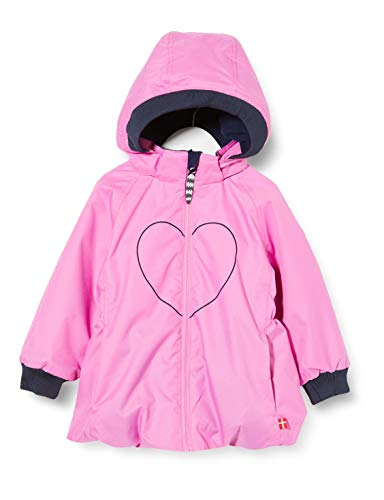Racoon Girls Lily Winter Jacket AW, SOLID PINK, 116