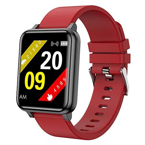 ZDY Smartwatch para Damas, Pulsera de Fitness Multideporte Impermeable IP68, rastreador de Actividad con podómetro de Ritmo cardíaco y Monitor de sueño, Healthwatch para iOS/Android.