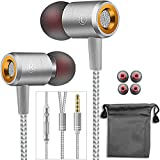 in-Ear Earphones Headphones Wired Earbuds with High Resolution, Noise Isolating, Bass Driven Sound