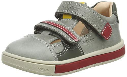 Geox Baby Jungen B TROTTOLA BOY C, Grün (Dk Olive/Red C3k7v), 23 EU