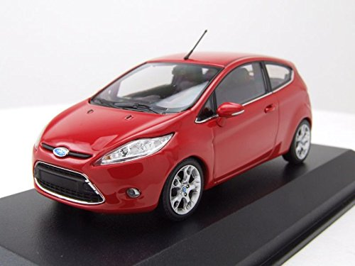 MAXICHAMPS – Ford – Fiesta – 2011 Auto Miniatur-Collection, 940088000, rot
