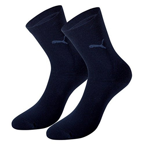 PUMA Damen Casual Socken Classic 6er Pack, Navy, 35/38