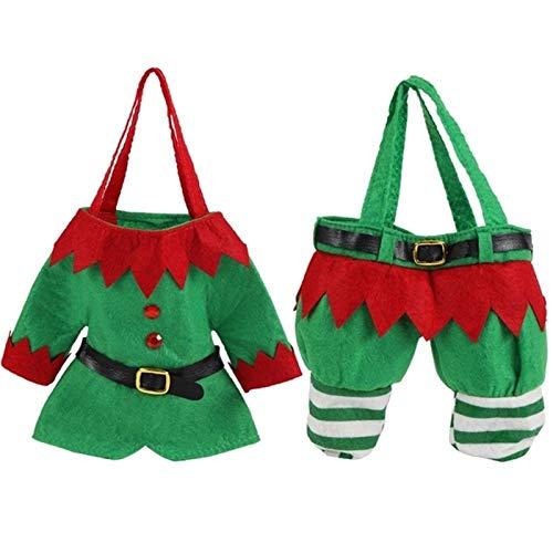 Infantil Disfraz de Navidad del muchacho del bebé de Navidad de Santa Claus Elf patrón Festivales regalo de vestuario Fotografía reutilizable de Halloween de vacaciones Decoraciones navideñas caseras