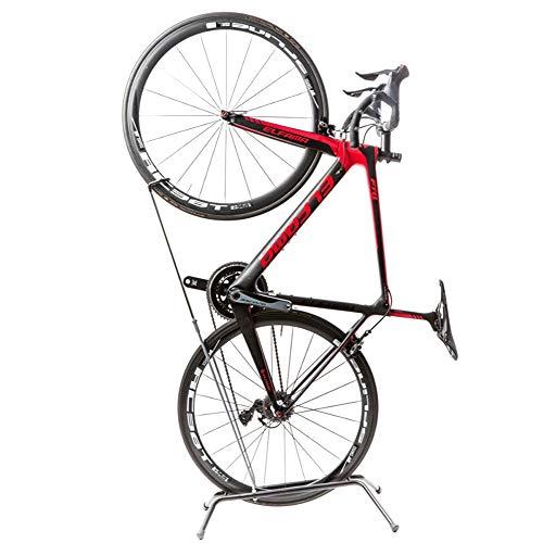 Mhwlai Portabicicletas, Colgador Vertical de estacionamiento, Bicicleta de montaña, Soporte para Bicicleta de Carretera, Gancho, portabicicletas Vertical, trípode para Bicicleta