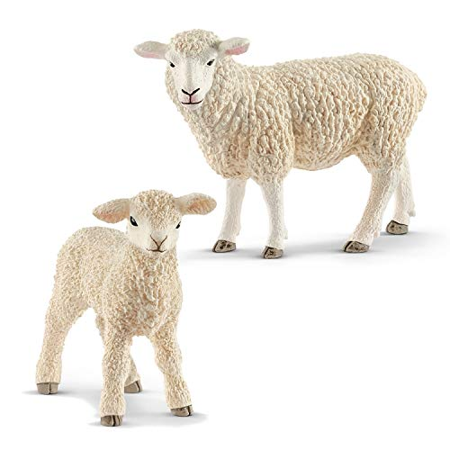 Farm World Schleich 13882 Schaf + 13883 Lamm