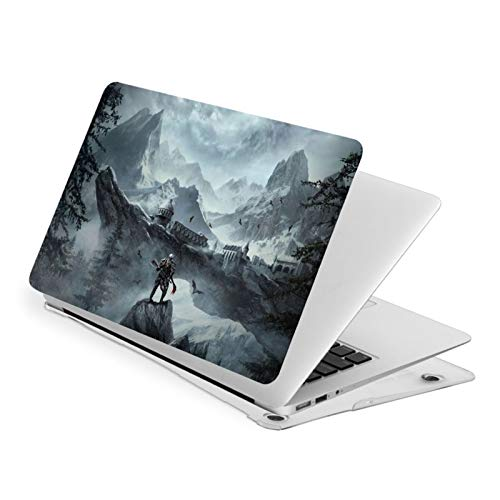 The Elder Scrolls TES Apple Laptop Case, Compatible with MacBook Air 13 Inch, MacBook Pro 13 & 15 Inch, Only Applicable to A1369 A1466 A1932 A1706 A1707 A1708 A1989 A1990 A2159 Models