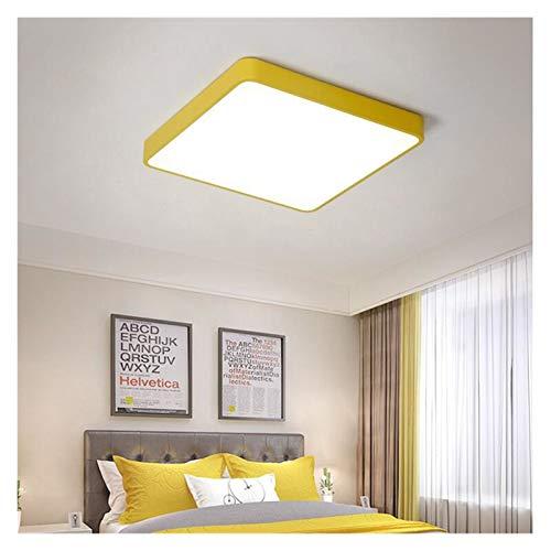 Lámpara de techo Luz de techo LED Lámpara de techo moderna Sala de estar Dormitorio Corredor Balcón Iluminación Accesorio Montaje Montaje Redondo Cuadrado Luz LED Para iluminación