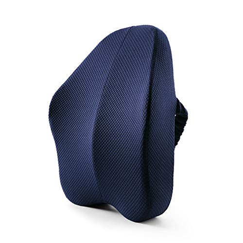 QETU Big Size Full Lumbar Support Best Premium Back Pillow for Office Desk Chair Car Seat Sofa Ergonomic Relieve Lower Sciatica Pain