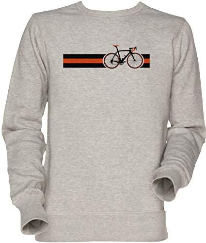 Vendax Bicicletta Strisce Squadra Cielo Unisex Felpa Grigio