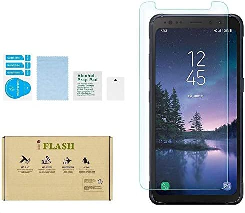 Galaxy S8 Active Screen Protector iFlash Crystal Clear Tempered Glass Screen Protector For Samsung product image