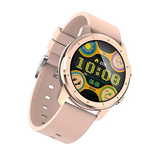 Smartwatches Pulsera de Deportes del Ritmo cardíaco de la Llamada de Bluetooth del Reloj Elegante del Tacto Completo