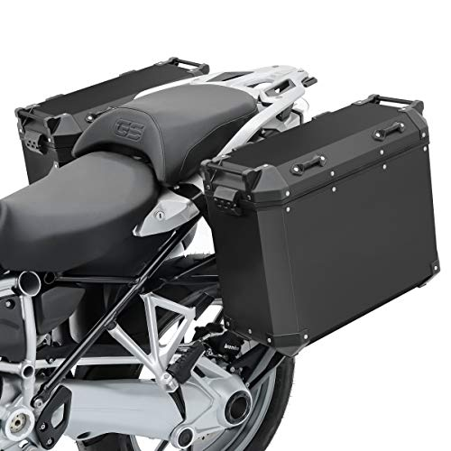 Set Valigie alluminio Compatibile con BMW R 1200 GS Adventure 14-18 + portavaligie ADX70B