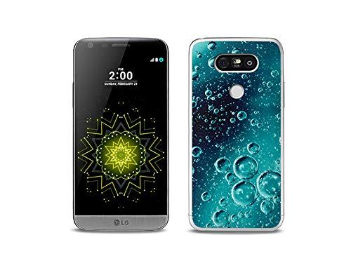 etuo Handyhülle für LG G5 SE - Hülle, Silikon, Gummi Schutzhülle - Tröpfchen