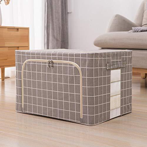 Large cotton flashed folding storage box household storage tissue quilt toy storage garland