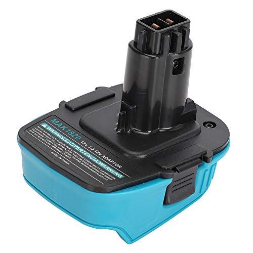 FOLOSAFENAR ABS-Batterieadapter, Leichter, Haltbarer Lithium-Ionen-Batterieadapter Home Audio Equipment Zubehör Geeignet für Makita 18V Lithium-Batterie