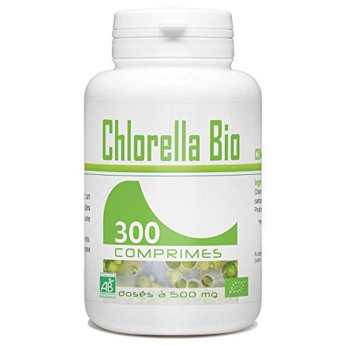 Chlorella Bio - 500 mg - 300 comprimés
