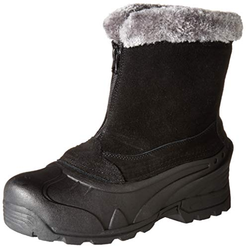 Itasca Women's Tahoe Winter Boot with 200g Thinsulate Insulation, Black, Size 9 Snow, 9 D US