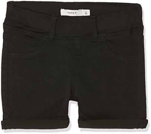Name IT NOS Name IT NOS Mädchen Shorts NKFSALLI TWITINNA AF NOOS, Schwarz (Black), (Herstellergröße: 98)