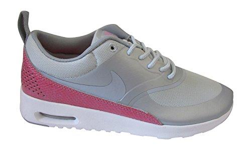 Nike Wmns Aire Max Thea Premium (616723-601) - metálico platinum lobo gris blanco hyper 016, mujer, 3.5 UK / 36.5 EU / 6 US