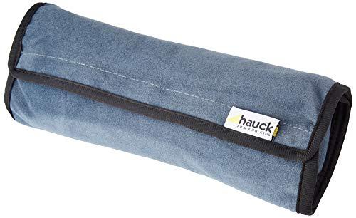 Hauck Cushion Me Gurtpolster für Kindersitze, Befestigung mit Klettverschluss, Herausnehmbare Polsterung, für Kinder und Erwachsene, grau, 28 x 10 x 7 cm