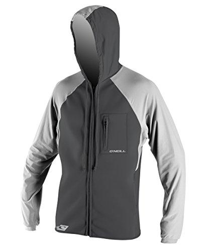 O'Neill Wetsuits Men's Filter Jacket, Smoke/Flint, Small