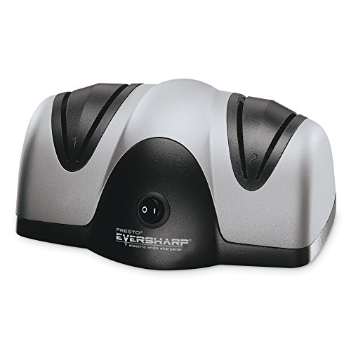 Presto 08800 EverSharp Electric Knife Sharpener, 2 stage, Black