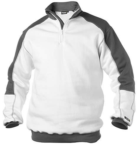 DASSY Sweatshirt BASIEL Weiss/grau Größe: L Farbe: Weiss
