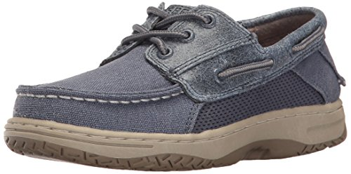 Sperry Billfish Boat Shoe (Toddler/Little Kid),Dark Tan, 8.5 M US Toddler