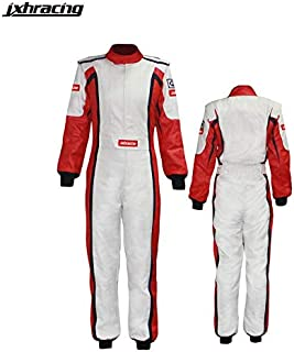 jxhracing C036LH One Layer SFI Cotton Car Racing Suit for Women XX Large