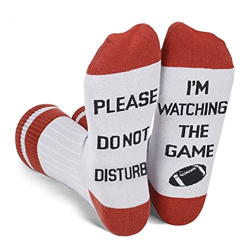 Funny Football Socks for Men