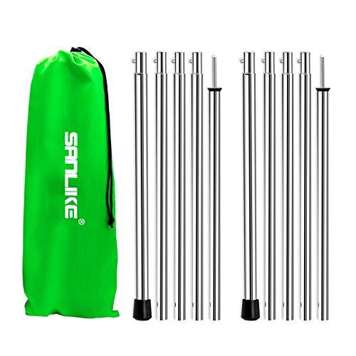 San Like Adjustable Ball Bearing Tent Poles