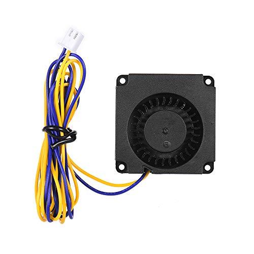 Aibecy 4010 Ventilador sin escobillas Ventilador de refrigeración Ventilador turbo 40 * 40 * 10 mm 24 V CC con rodamiento de bolas Conector de 2 pines para CR-8S Ender 3 Impresora 3D Hotend Extrusora