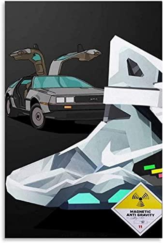 Sunsightly Benutzerdefinierte Low Poly Art Sneaker Poster Hypebeast Poster Personalisierte Leinwanddrucke Keine Gerahmten Bilder Für Wohnzimmer Modern