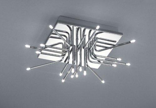 Bankamp Deckenleuchte Chrom Modern Design Leuchte 20 flammig