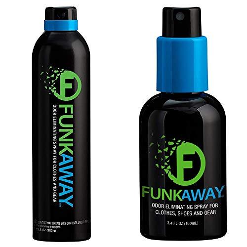 FunkAway Aerospray, 13.5 oz | Extreme Odor Eliminator | Aerosol | Use...