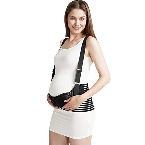 PINGJIA Banda De Vientre De Maternidad para El Embarazo, Ligante Abdominal, Soporte Pélvico Banda De Vientre Cómoda para El Embarazo, Espalda Transpirable/Protuberancia/Pelvis/Cinturón