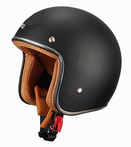 BHR Casco, color Negro Mate, talla 59/60