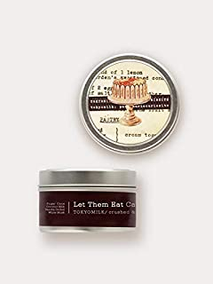 Margot Elena Tokyo Milk Let Them Eat Cake Crushed and Distilled Tin Travel Candle, Delightful Aroma, 4 Ounce