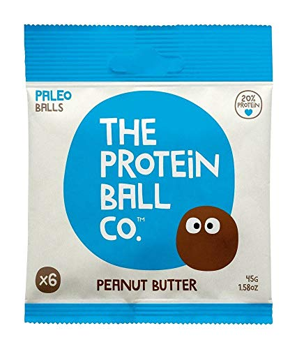The Protein Ball Co. Keto Whey Protein Bites | 10 Pack | Peanut Butter | All Natural, Gluten Free, Vegetarian, Non GMO, Healthy High Protein Snacks, No Added Sugar