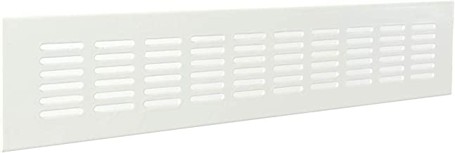 Nicoll 71593 Grille rect 150 moust 1b161 Blanc